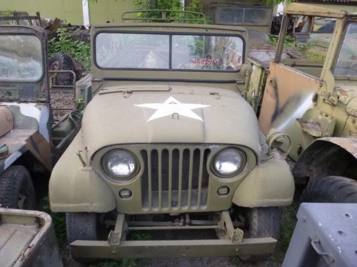 Jeep Willys Overland M 170